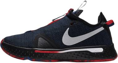Nike PG 4 - Black Rush Blue University Red Metallic Silver (CD5079006)