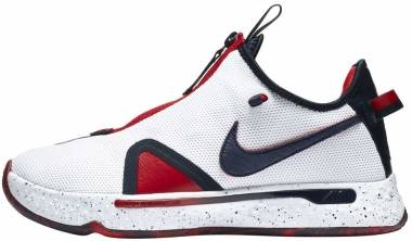 Nike PG 4 - White/Obsidian-university Red (CD5079101)