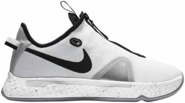 Nike PG 4 - White/Black/Wolf Grey (CK5828100)