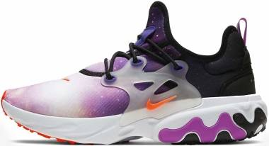 Nike React Presto Premium - Black/Total Orange-court Purple (CN7664002)