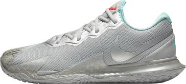 NikeCourt Air Zoom Vapor Cage 4 - Metallic Silver/Metallic Silver (CD0424004)