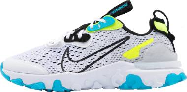 Nike React Vision - White Black Volt Blue Fury (CT2927100)