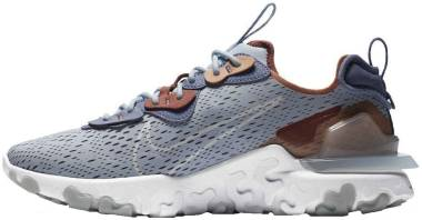 Nike React Vision - Lt Armory Blue Pure Platinum Amber Brown Claystone Red World Indigo (CD4373401)