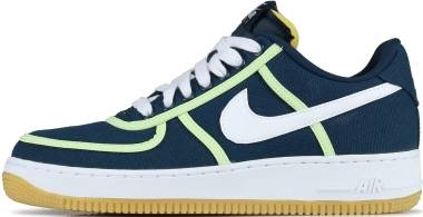 Nike Air Force 1 07 Premium - Mehrfarbig Armory Navy White Barely Volt 000