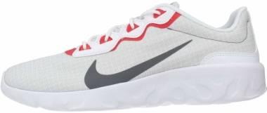 Nike Explore Strada - Blanco Iron Grey Grey Fog Track Red