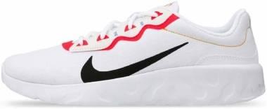 Nike Explore Strada - White/Black/Bright Crimson (CD7093100)