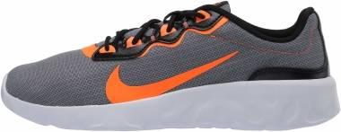 Nike Explore Strada - Cool Grey/Total Orange-black-white (CD7093007)