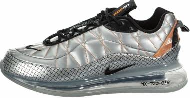 Nike MX-720-818 - Metallic Silver Black Total Orange (BV5841001)