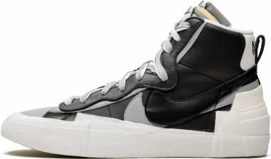 Nike Blazer Mid Sacai - Black/Wolf Grey-white