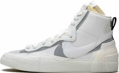Nike Blazer Mid Sacai - White/Wolf Grey-pure Platinum (BV0072100)