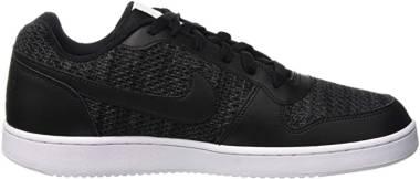 Nike Ebernon Low Premium - Gris Dark Grey Black White 001 (AQ1774001)