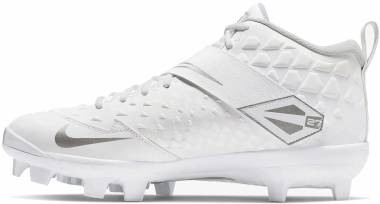 Nike Force Trout 6 Pro MCS - White/White-pure Platinum (AT3461100)