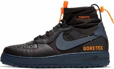 Nike Air Force 1 Winter GTX - Black/Thunder Blue (CQ7211001)