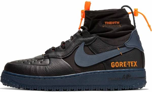 NIKE AIR FORCE 1 WINTER GORE TEX THE 10TH CQ7211 003 BLACK