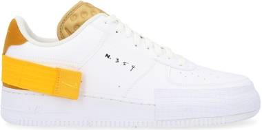 Nike Air Force 1 Type - White/University Gold-gold Suede (AT7859100)