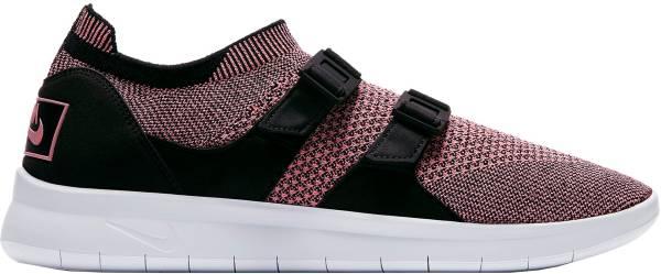 Nike Air Sockracer Flyknit - Black / Bright Melon - Black - White