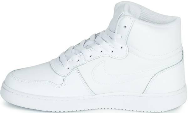 cascada Dedicación Mirar atrás  Nike Ebernon Mid sneakers in white | RunRepeat