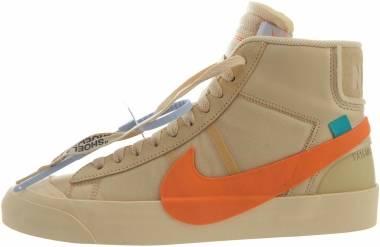 Nike Blazer Mid Off-White - Canvas, Total Orange (AA3832700)