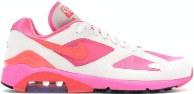 Nike Air Max 180 CDG - Laser Pink/Solar Red-white (AO4641600)
