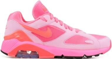 Nike Air Max 180 CDG - laser pink, solar red-pink rise