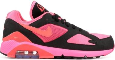 Nike Air Max 180 CDG - Laser Pink/Solar Red-black (AO4641601)
