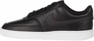 Nike Court Vision Low - Black/Black/White (137460283)