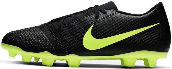 Nike PhantomVNM Club Firm Ground - Black Black Volt 007 (AO0577007)