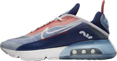 Nike Air Max 2090 - White Chile Red Deep Royal Blue White (CT1091101)