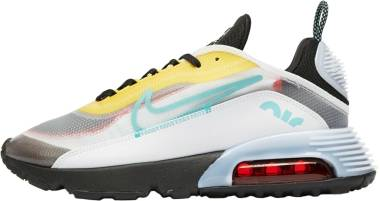 Nike Air Max 2090 - White Bleached Aqua Black Speed Yellow Chile Red (CT1091100)