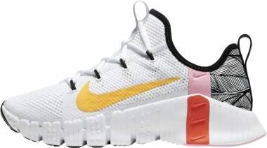 Nike Free Metcon 3 - Dark Smoke Grey/Light Zitron/Bright Mango - (CJ6314181)