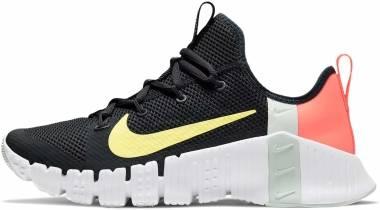 Nike Free Metcon 3 - Dark Smoke Grey/Light Zitron/Bright Mango (CJ6314020)