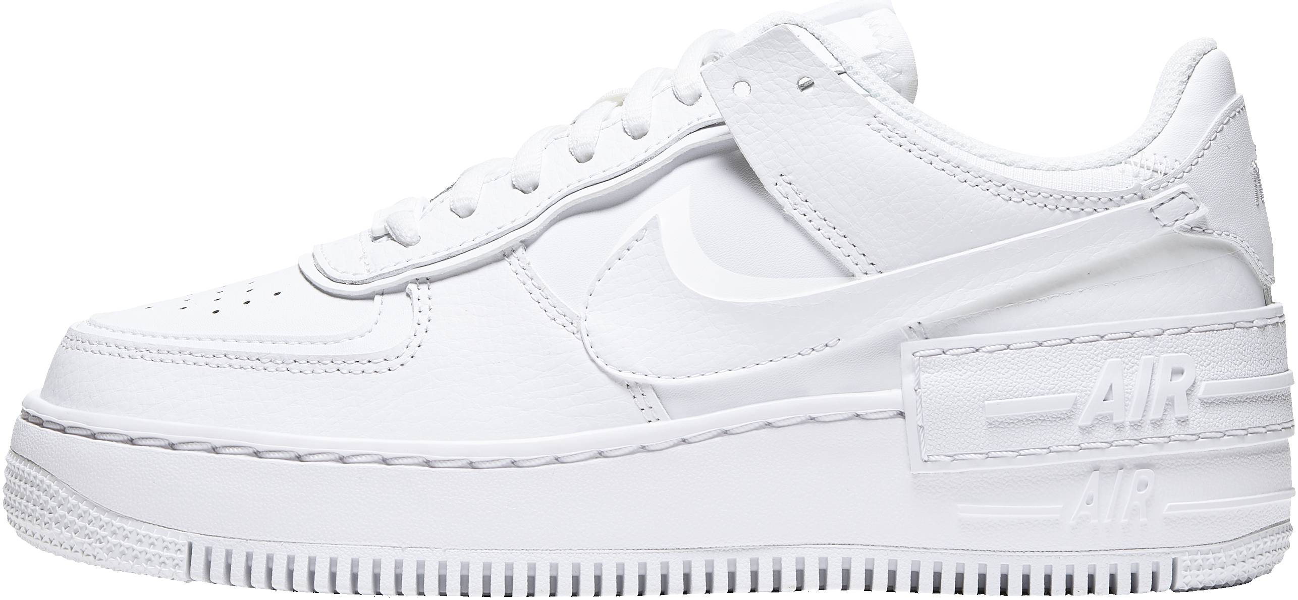 110 Review Of Nike Air Force 1 Shadow Runrepeat This nike air force 1 shadow comes with an iridescent pixelated swoosh. nike air force 1 shadow