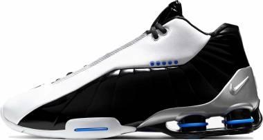 Nike Shox BB4 - White/Black-racer Blue-metallic Silver