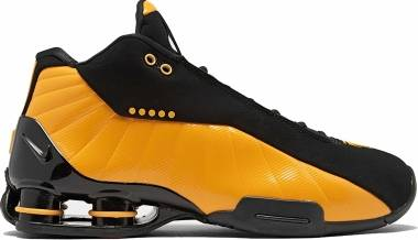 Nike Shox BB4 - Black/University Gold (AT7843002)