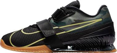 Nike Romaleos 4 - Black/Gum Medium Brown/Limelight (CD3463032)