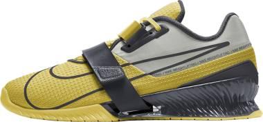 Nike Romaleos 4 - Bright Citron Grey Fog Dark Smoke Grey (CD3463707)