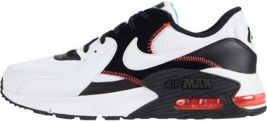 Nike Air Max Excee - White White Black Flash Crimso (CD4165105)