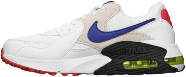 Nike Air Max Excee - White Hyper Blue Bright Cactus Track Red (CD4165101)