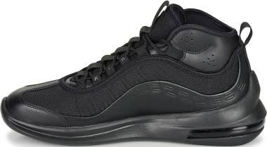 Nike Air Max Axis Mid - Black Black Black White Mtlc Silver 002 (BQ4017002)