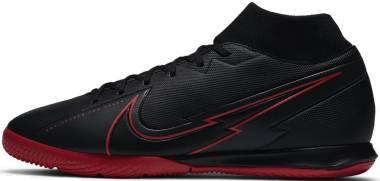 Nike Mercurial Superfly 7 Academy Indoor - Black Black Dk Smoke Grey (AT7975060)