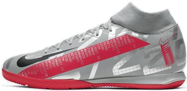 Nike Mercurial Superfly 7 Academy Indoor - Grey (AT7975906)