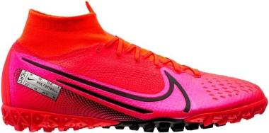 Nike Mercurial Superfly 7 Elite Turf - Red (AT7981606)