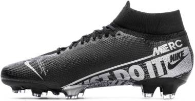 Nike Mercurial Superfly 7 Pro Firm Ground - Black Black Metallic Cool Grey Cool Grey 001 (AT5382001)