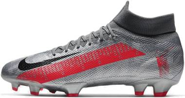 Nike Mercurial Superfly 7 Pro Firm Ground - Silver (AT5382906)
