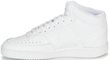 Nike Court Vision Mid - White (CD5436100)