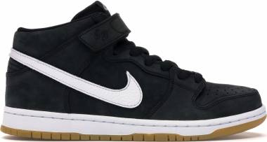 Nike SB Dunk Mid - Black/White-black-gum Light Brown (CD6754001)