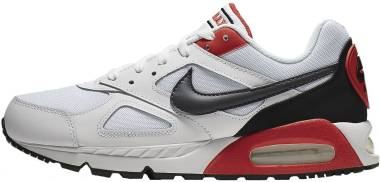 Nike Air Max IVO - White Dark Grey Habanero Red 100 (CD1540100)