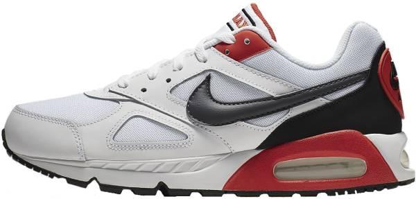 Nike Air Max IVO - White Dark Grey Habanero Red 100 (CD1540100)