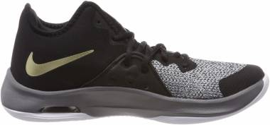 Nike Air Versitile III - Multicolore Black Metallic Gold Dark Grey White 005