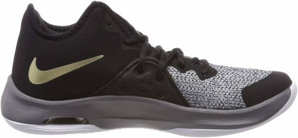 Nike Air Versitile III - Multicolore Black Metallic Gold Dark Grey White 005